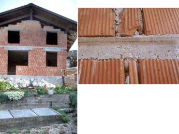 Utrditev zidanih konstrukcij stavb