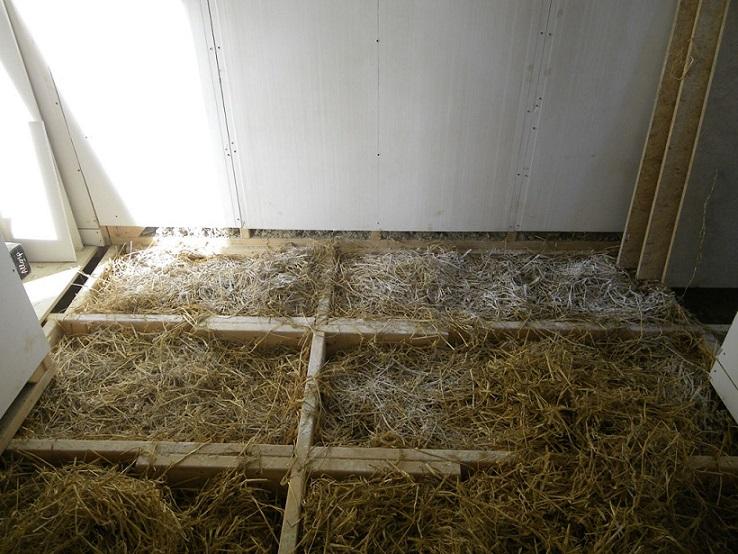 Izvedba kmečkega poda