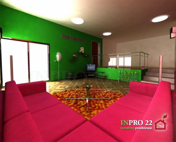 notranje oblikovanje dnevna soba