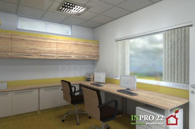 notranje oblikovanje pisarne