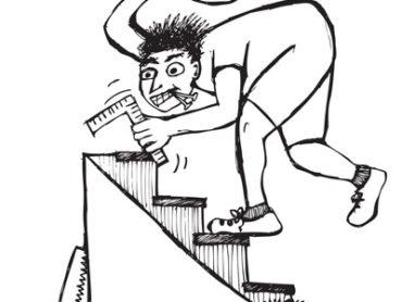 Projektiranje stopnic