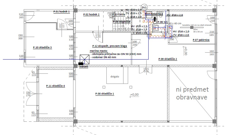 Projektiranje strojnih inštalacij